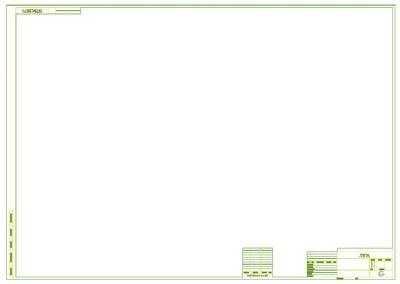 Рис. 1. Графический вид шаблона A1_HOR_F33_L1.dxf