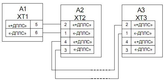 Схема подключения ИПР-513-3А.