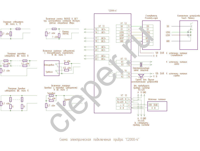 Электромеханические приборы структурная схема4